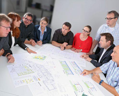 Das einmalige Konzept des Wohnparks am Callenberg wurde realisiert von erfahrenen Experten