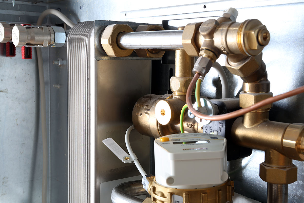 Die Frischwasserstation liefert bedarfsgerecht keimfreies Frischwasser
